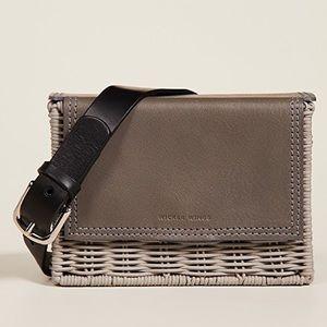 Handbags - Wicker Wings Clutch
